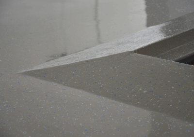 Detail Schraegkeil Bodenbeschichtung floorex