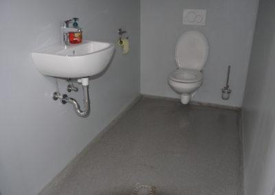 Industrie WC, Fugenfrei, Abwaschbar, fuer Extremsituationen www.floorex.at