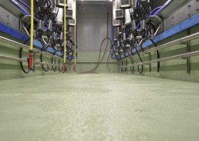 Melkstand Industrieboden