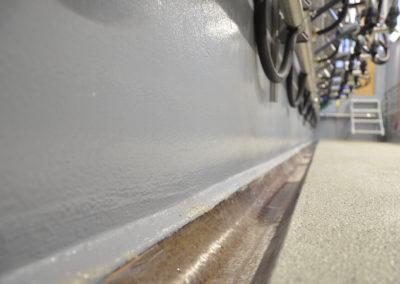 Melkstandbeschichtung Detailansicht www.floorex.at