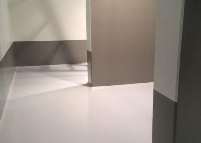 Wandbeschichtung + Bodenbeschichtung