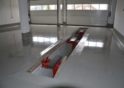 Werkstattboden mit Gefaelle www.floorex.at