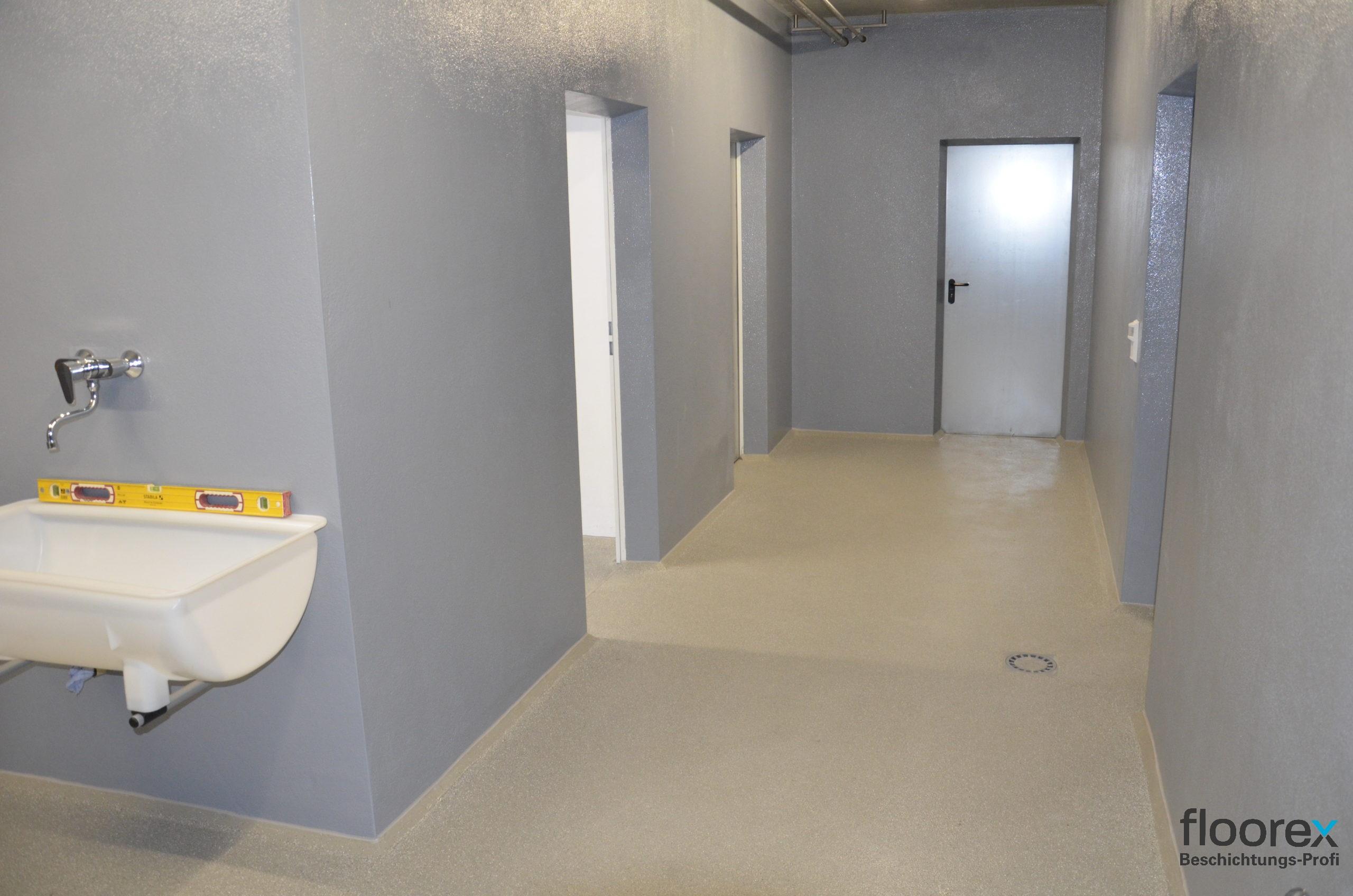 Wände   Bodenbeschichtungen   floorex aus Rohrbach